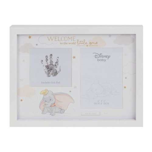 Disney Magical Beginnings Photo & Hand Print Frame - Dumbo