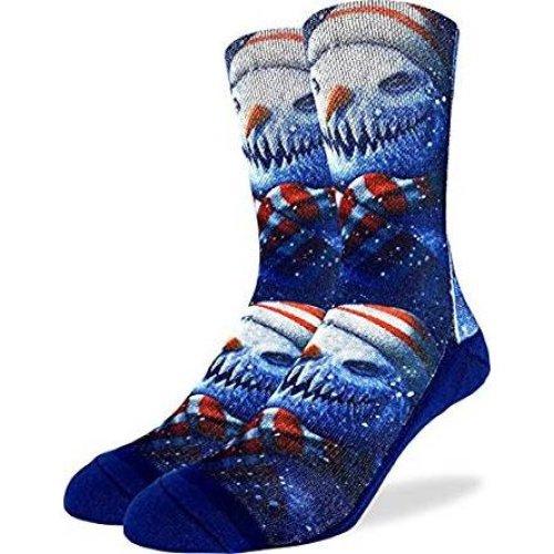 Socks - Good Luck Sock - Men's Active Fit - Evil Snowman (8-13) 4130