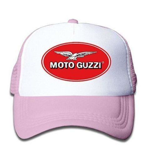 Youth Moto Guzzi Logo Adjustable Mesh Trucker Cap