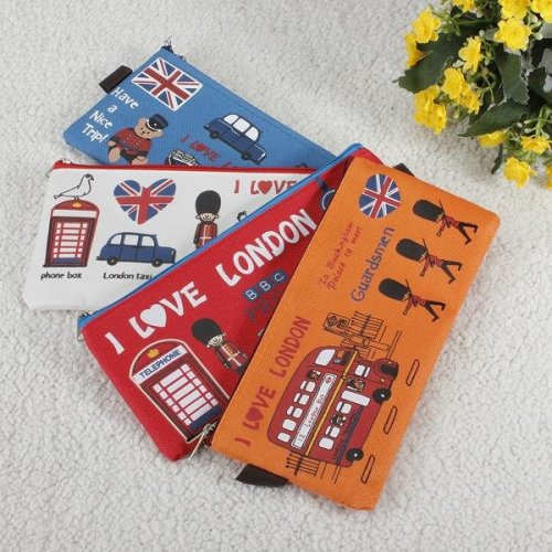 Korean Stationery Korea Cute Canvas Bag Pencil Case