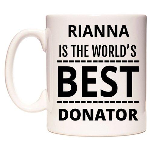 RIANNA Is The World's BEST Donator Mug