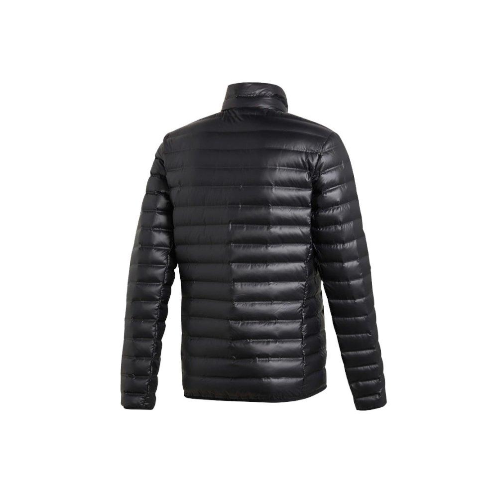 sin cable Amigo Destello  Adidas Varilite Down Jacket BS1588 Mens Black jacket on OnBuy