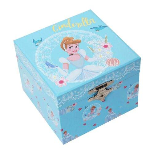 Disney Princess Cinderella Pastel Musical Jewellery Box