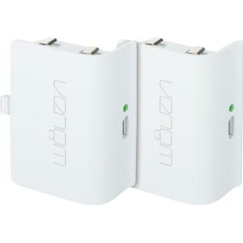 Venom Xbox One Rechargeable Battery Twin Pack - White (Xbox One)