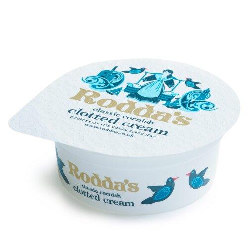 Roddas Frozen Cornish Clotted Cream Portion Pots - 48x28g