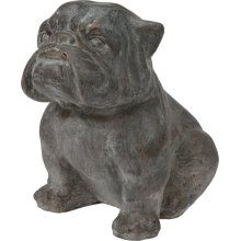Koopp Indoor Outdoor Garden Ornament Bulldog Stone Look 44cm Tall