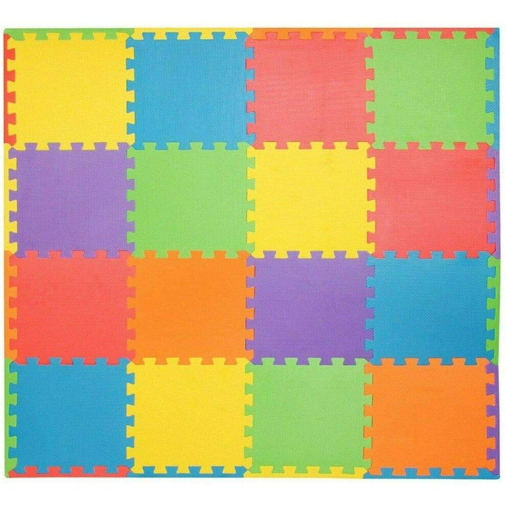 18pcs Eva Foam Mat Soft Floor Tiles