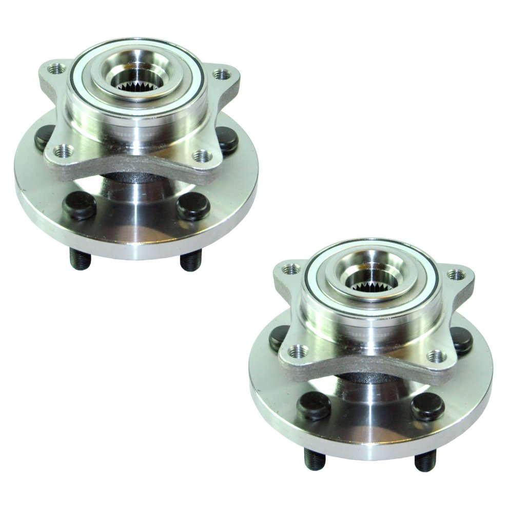 2x FRONT WHEEL BEARING HUB FOR LAND ROVER DISCOVERY 3 /& 4 RANGE ROVER SPORT PAIR