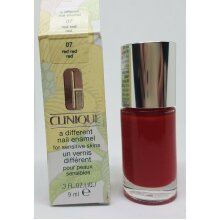 Clinique a different Nail Enamel /polish 9ml *07 RED RED RED* NEW & BOXED