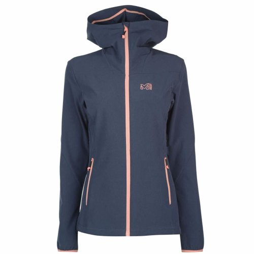 Millet Tahoe Stretch Jacket Womens Grey Outdoor Top Ladies Outerwear
