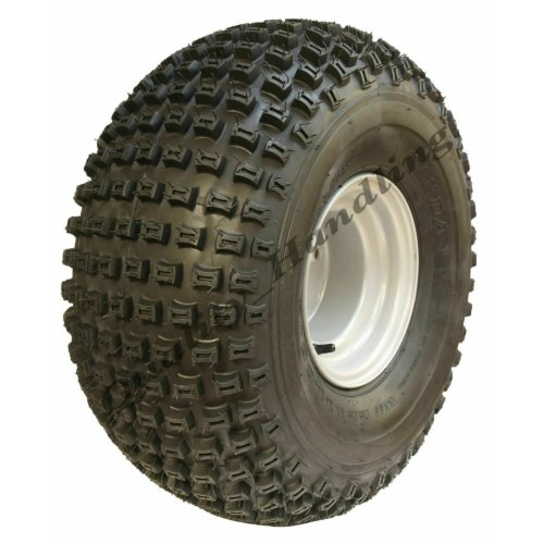 22x11.00-8 knobby tyre on 4 stud rim - Wanda P322 - 100mm PCD rims