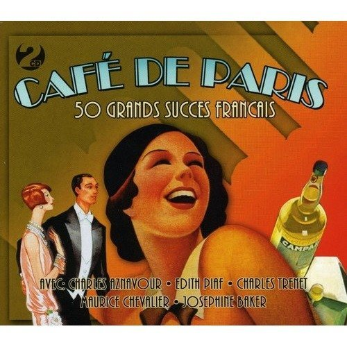 Cafe De Paris- 50 Grands Succes Francais [CD]