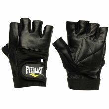 EVERLAST Leather Fitness Gloves for Training or Workouts Size XL
