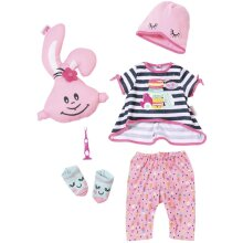 Baby Born Deluxe Sleepover 43cm Doll Outfit