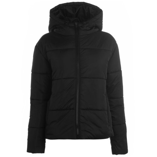 Everlast Bubble Jacket Womens Black Outdoor Top Ladies Outerwear
