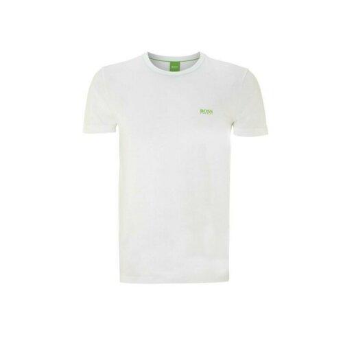 (Grey, S) Hugo Boss Crew Neck Short Sleeve Men's Cotton T shirt Genuine
