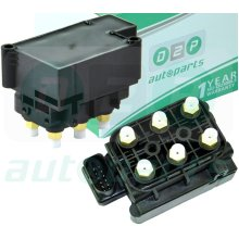 FOR AUDI ALLROAD C5, A6 C6 4FH 4F2 4F5 A8 4E AIR SUSPENSION SOLENOID VALVE BLOCK