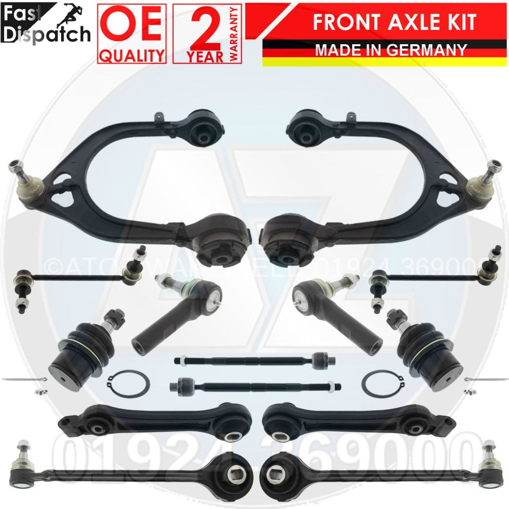 FOR Chrysler 300 C Wishbone Control Arms Drop Links,Tie Rod KIT 2004-2012