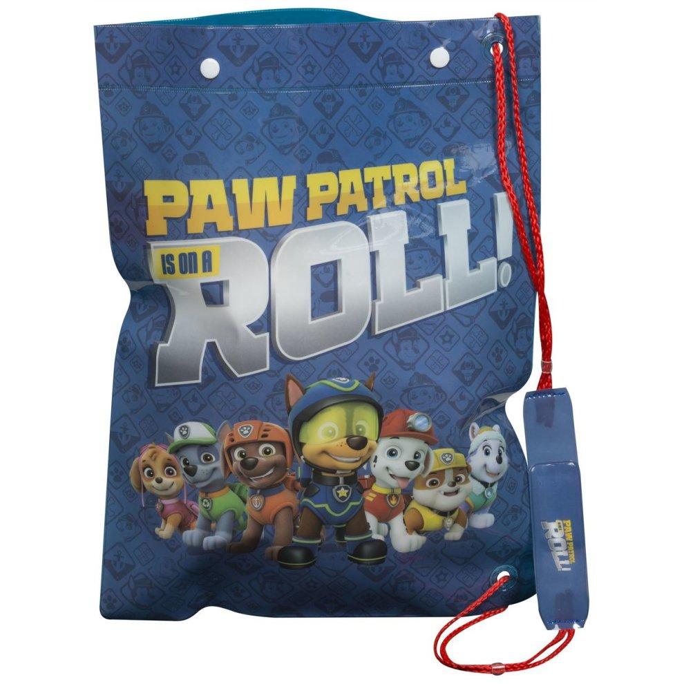 Boys Kids Paw Patrol Swimming Bag School Sports PE Gym Swim Drawstring Bag