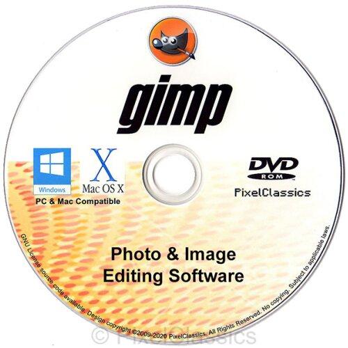 GIMP 2021  Photo Editor Professional Image Editing Software