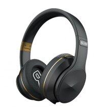 Head-mounted BT Headset V5.0 Wireless Insert Card Sports Foldable Headset B4 Gold