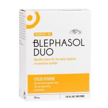 Blephasol Duo: 100ml & 100 cotton pads - Blepharitis - 1