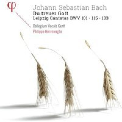 COLLEGIUM VOCALE GENT; PHILIPPE HERREWEGHE - J.S. BACH: DU TREUER GOTT - LEIPZIG CANTATAS BWV 101 \xBF 103 \xBF 115  - CD