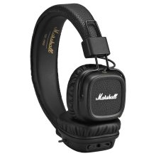 Marshall Major II Wireless Bluetooth Foldable Headphone with Mic + Remote Black