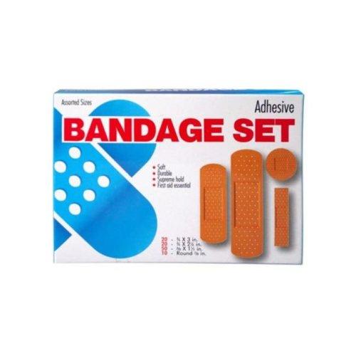 Kole Imports BI963-30 Bandage Assortment - Pack of 100 - Case of 30