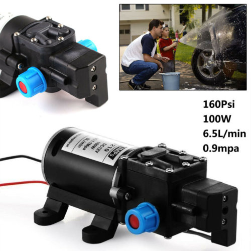 80W Electric High Pressure Self-priming Diaphragm Water 160psi Pump