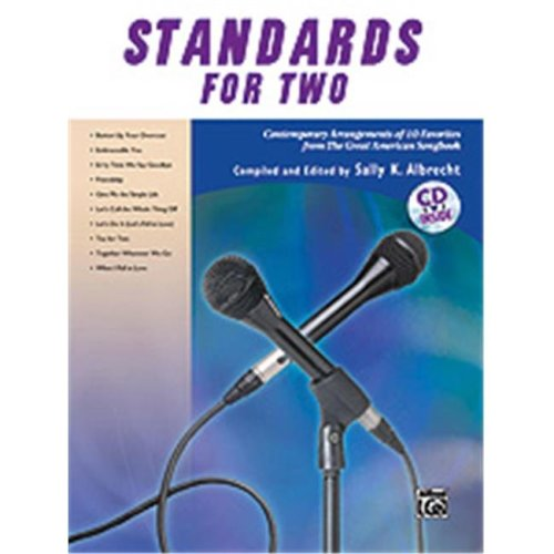 Alfred 00-33204 STANDARDS FOR TWO-BK&CD TONLP