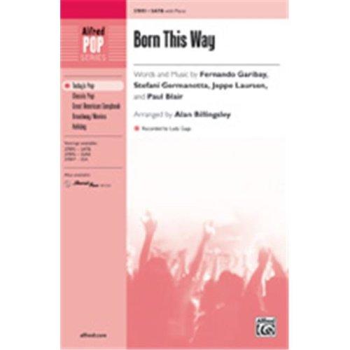 Alfred 00-37898 BORN THIS WAY-STRX CD