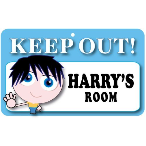 Keep Out Door Sign - Harry's Room
