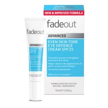 Fade Out Brightening Eye Defence Cream SPF25, 15ml- Hydrate & Instantly Illuminate Tired Looking Eyes, Plump & Firm The Skin, Womens Eye Cream