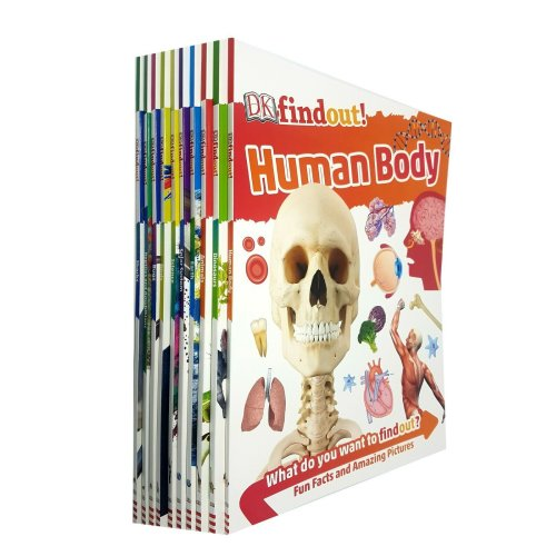 DK Findout! Series with Fun Facts and Amazing Pictures 10 Books Set
