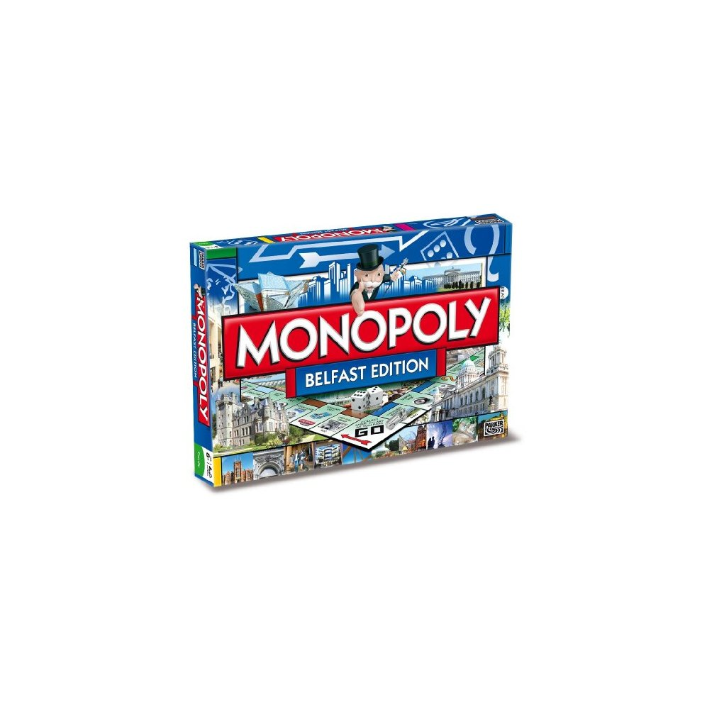 Winning Moves Belfast Monopoly Board Game