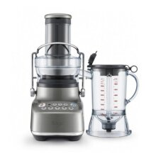 Sage The 3X Bluicer SJB615SHY Blender Juicer 1000 Watts 1.5 Litre Smoked Hickory