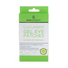 Skin Academy Cucumber Gel Eye Patches - 4 Treatments | Under-Eye Mask