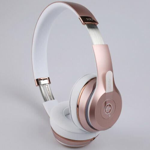 Beats Solo3 Wireless Headphones Rose Gold On Onbuy