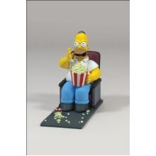 McFarlane Simpsons Movie Mayhem Homer Simpson Figure with Sound