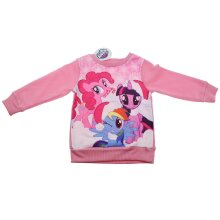 Kids Girls My Little Pony Christmas Jumper Xmas Sweater Long Sleeve 2-3 Years