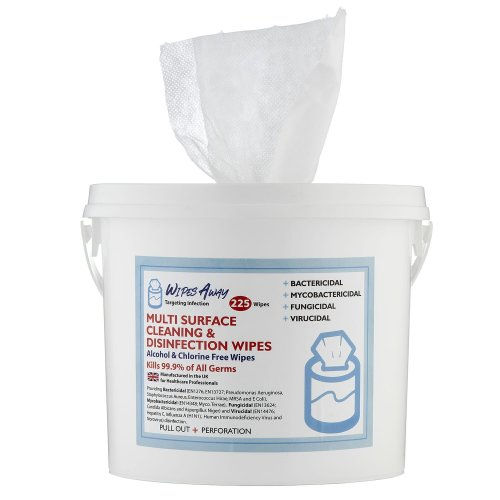 225pk Wipes Away Multi Surface Cleaning & Disinfection Wipes