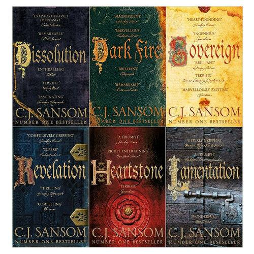 C. J. Sansom 6 Books Collection Set Shardlake Series