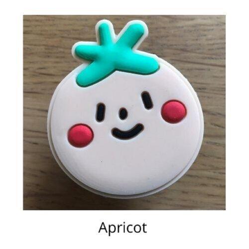 (Apricot) mobile phone holder Socket Finger grip Stand UK