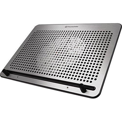 Thermaltake Massive A21 Aluminum Panel Single 200mm Fan 10 17 Laptop Notebook Cooling Pad CL N011 PL20BL A