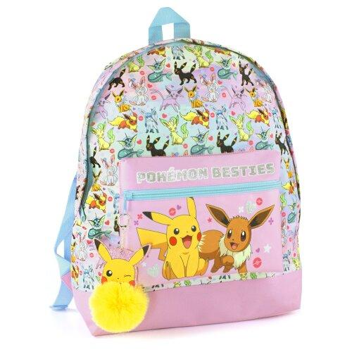 Pokemon Pikachu Eevee Besties Girl's Backpack