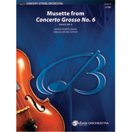 Alfred 00-40498 MUSETTE FROM CONCERTO GROSSO 6-BCS