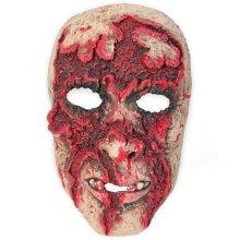 Horror mask deliquescent face half mask Horror Halloween Size