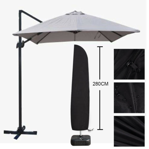 Large Waterproof Parasol Banana Umbrella Cover Outdoor Garden Cantilever Shields