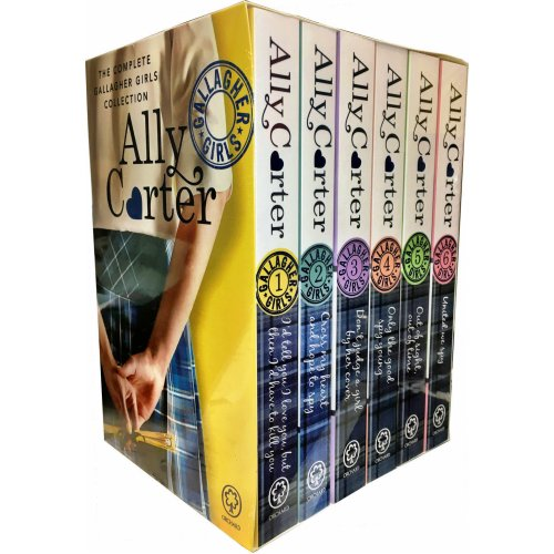 Gallagher Girls 6 Books Box Set Collection By Ally Carter